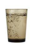 темная вода выпивая стекла Стоковое Изображение