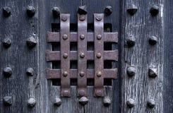 темная дверь Стоковое Фото