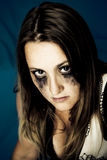 темная девушка Стоковое Изображение RF