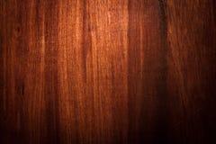 Темная деревянная предпосылка текстуры Стоковое Изображение