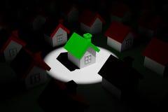 темная дом highlight иллюстрация вектора