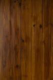 Темная деревянная предпосылка планки Стоковые Изображения RF