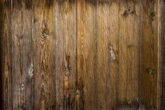 Темная деревянная предпосылка Стоковые Изображения