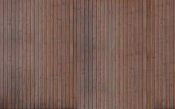 Темная деревянная текстура планок Стоковая Фотография