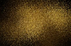 Темная золотая текстура shimmer Старая абстрактная предпосылка Картина зерен стоковые изображения