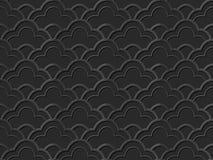 Темная линейная шкала кривой oriental искусства 524 бумаги 3D бесплатная иллюстрация