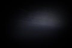 Темная и черная текстура предпосылки волокна углерода Стоковое Изображение