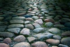 темная каменная текстура Стоковая Фотография