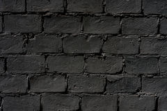Темная кирпичная стена стоковые изображения rf