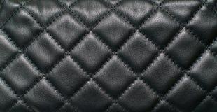 Темная кожаная текстура Стоковые Изображения