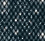 Темная мозаика светлых элементов Стоковые Изображения RF