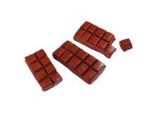 Темная модель шоколада от японской глины стоковые изображения