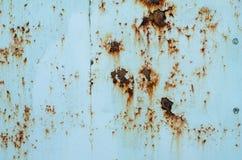 Темная несенная ржавая предпосылка текстуры металла Стоковое фото RF