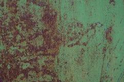 Темная несенная ржавая предпосылка текстуры металла Стоковые Фотографии RF