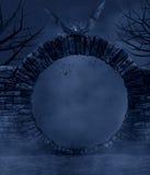 Темная ноча иллюстрация вектора