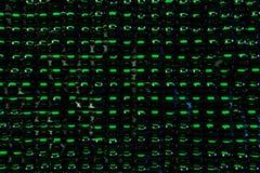 Темная отражая предпосылка сферы абстрактная Стоковая Фотография RF