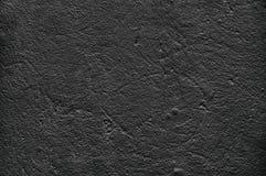 Темная, пакостная предпосылка старая поцарапанная стена Черно-коричневые тоны тонов, грубая текстура Стоковые Изображения RF