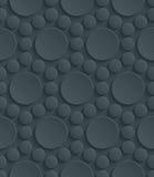 Темная пефорированная бумага Стоковая Фотография RF