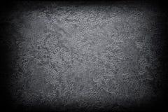 Темная предпосылка виньетки текстуры конспекта черноты grunge Стоковые Изображения RF
