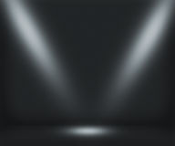 Темная предпосылка комнаты фары Стоковое Фото