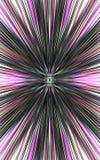 Темная предпосылка прямых нашивок расходится от середины к краям Стоковое Фото