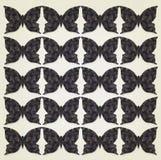 Темная предпосылка бабочек Стоковая Фотография RF
