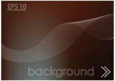 Темная предпосылка и белые линии Стоковое Изображение RF