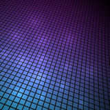 Темная предпосылка мозаики 3D Стоковое Фото