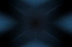 Темная предпосылка с голубыми точками Стоковая Фотография RF