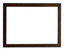 темная рамка деревянная Стоковые Фото