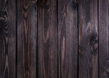темная древесина текстуры Панели предпосылки темные старые деревянные Закройте вверх стены стоковые фото
