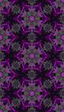 Темная розовая абстрактная картина Стоковое фото RF