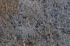 Темная серая грубая конкретная текстура каменной стены, текстурированное деревенское горизонтального крупного плана макроса старо Стоковые Изображения