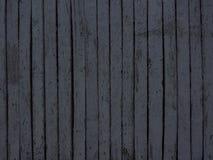 Темная серая деревянная предпосылка загородки Стоковое Изображение RF