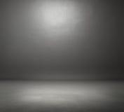 Темная серая комната Стоковая Фотография RF