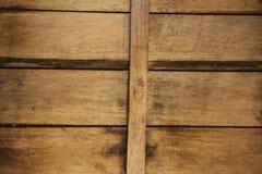 Темная старая деревянная предпосылка для меню ресторана Предпосылка для листовок, винных карт, меню, бизнес-ланча Стоковая Фотография RF