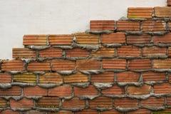Темная текстура каменной стены тона Стоковая Фотография