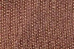 Темная текстура предпосылки ткани кабанины Деталь конца-вверх материала ткани стоковая фотография rf