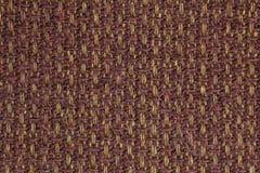Темная текстура предпосылки ткани кабанины Деталь конца-вверх материала ткани стоковое фото rf