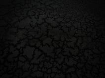 Темная треснутая земля глины Стоковое Изображение RF