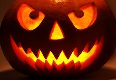 темная тыква halloween стоковые фотографии rf