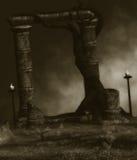 Темная фантазия иллюстрация штока