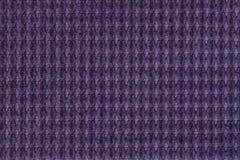 Темная фиолетовая предпосылка от мягкого ворсистого конца ткани вверх Текстура макроса тканей Стоковое Изображение RF