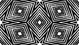 Темная чернота и бело- геометрическая акварель Alluring безшовная картина Нашивки нарисованные рукой Текстура щетки бесплатная иллюстрация