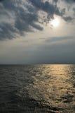темное море Стоковая Фотография