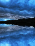 темное небо Стоковые Фотографии RF