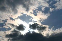 темное небо стоковая фотография rf
