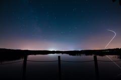 темное небо Стоковое фото RF