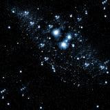 темное ночное небо Стоковое Изображение