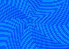 Темносиние переплетенные звезды, абстрактная предпосылка Стоковые Фото
